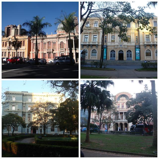 Praça da Liberdade e os museus do Circuito da Liberdade em Belo Horizonte!