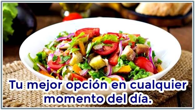 ¿Comer vegetales engorda?