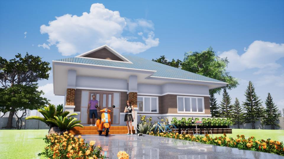 Every one of us dreams of building our dream home someday that will fit the needs of our family. But how ready are you for that meeting with your contractors to start planning your dream home? Do you have a specific plan in mind or a particular design of a home that you want? If you are not prepared for this, let us introduce you to 10 homes for small families where you and your family can enjoy a comfortable living home.   These 10 houses don't just have lovely facades. Each home has moderately sized but still spacious living areas that bring the family closer together. Take some major inspiration in this compilation if you want to build that little dream home of yours!