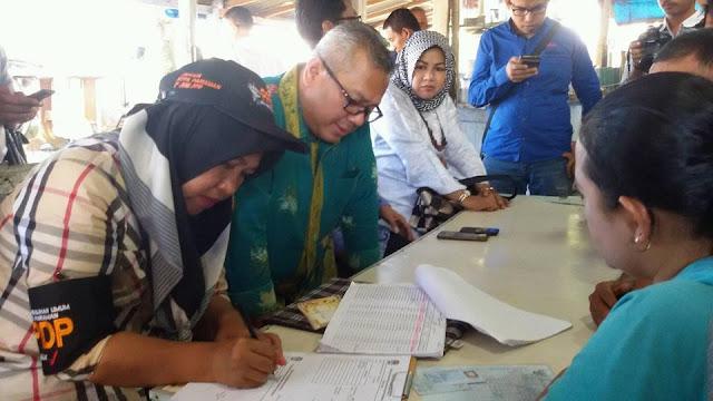 Ketua KPU RI Monitoring Langsung Pencoklitan Data Pemilih Pilwako Pariaman