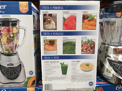 Costco 2864730 - Prepare for hot summers with smoothies prepared in the Oster Pro 500 Blender