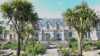 Garrison House, viktoriánus ház a tengerparton Skóciában