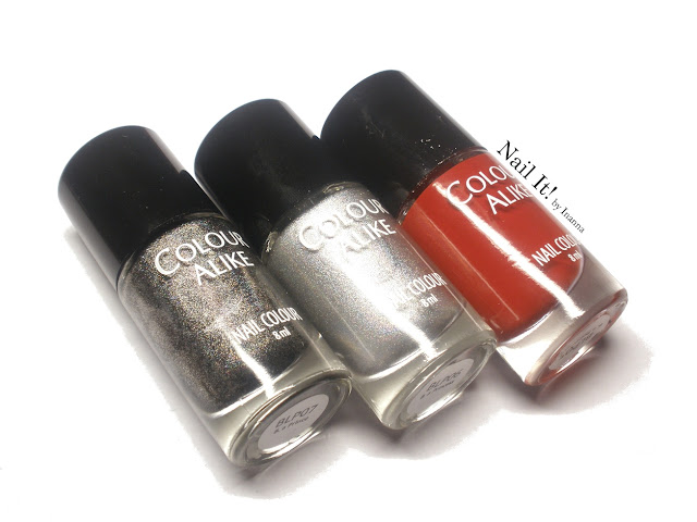 "B. Loves Plates ""B. a Princess"", ""B. a Prince"", ""B. a Red Dragon"" - SWATCHES, REVIEW and NAIL ART"
