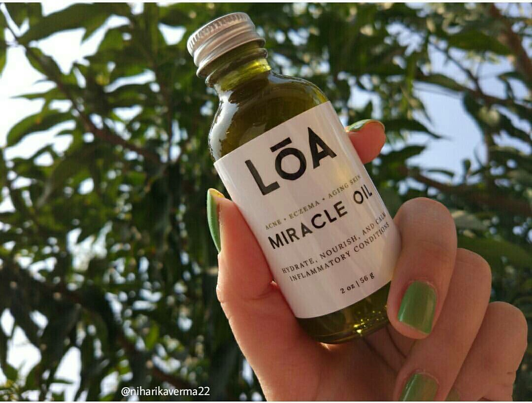 Get Rid of Pimples/Acne and Marks in a week with LOA Skincare Miracle Oil | Review