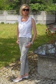 Spodnie z bawełny :)