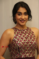 Actress Regina Candra Latest Stills in Maroon Long Dress at Saravanan Irukka Bayamaen Movie Success Meet .COM 0038.jpg