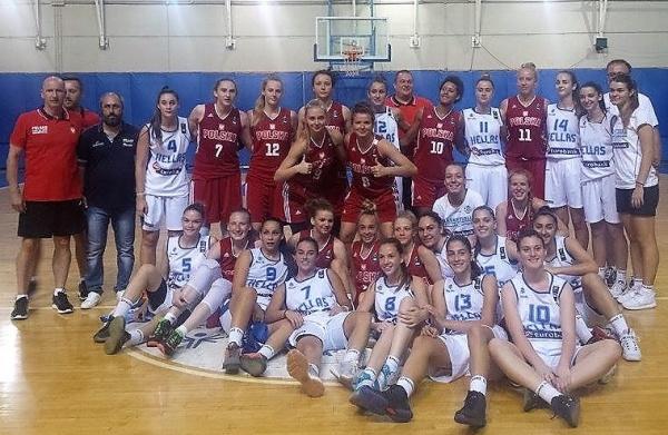 Φανερά βελτιωμένη παρά την τρίτη ήττα από την Πολωνία η Εθνική Κορασίδων