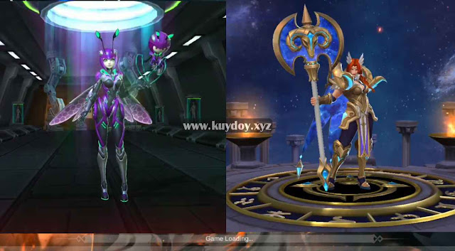 Script Skin Epic Angela V.E.N.O.M Vespid dan Hilda Zodiac Mobile Legends