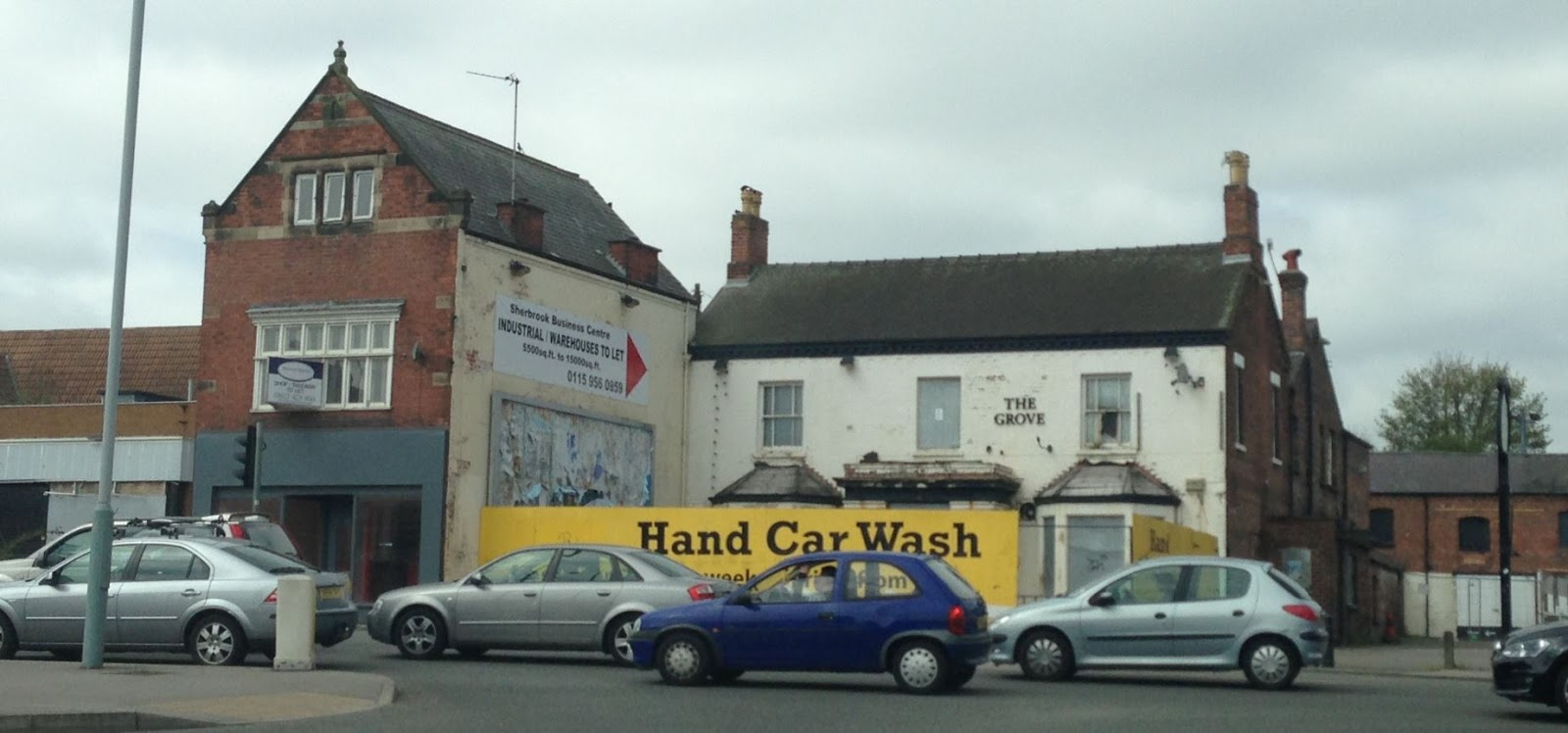 Portage Car Wash: Lost Pubs Of Nottingham: The Grove