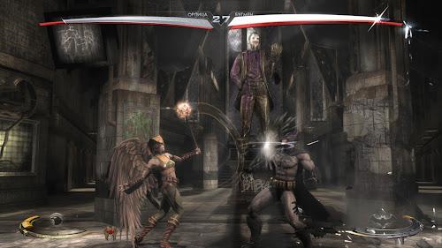 Screen Shot Of Injustice Gods Among Us (2013) Full PC Game Free Download At worldfree4u.com
