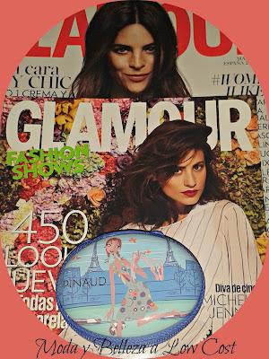Mini estuche de Pinaud regalo revista Glamour marzo 2016