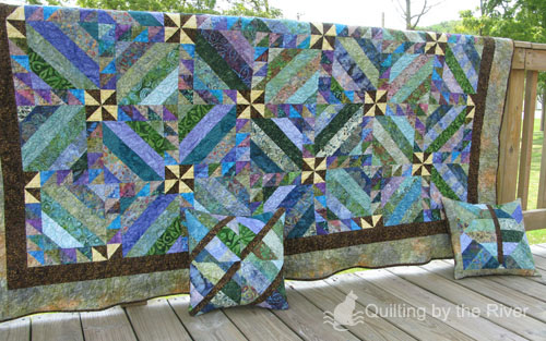 Intertwined by the River Quilt