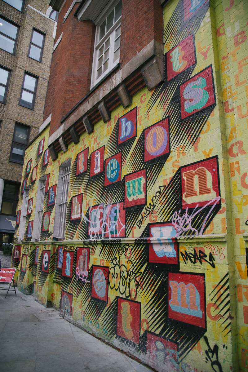 London city street art graffiti shoreditch spitalfields