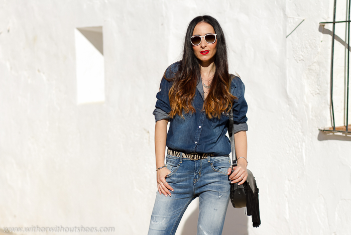 0b31bd317d Do you love the double denim outfit  Lots of love and Thanks so much for  your nice comments. I wish you have a fantastic weekend!