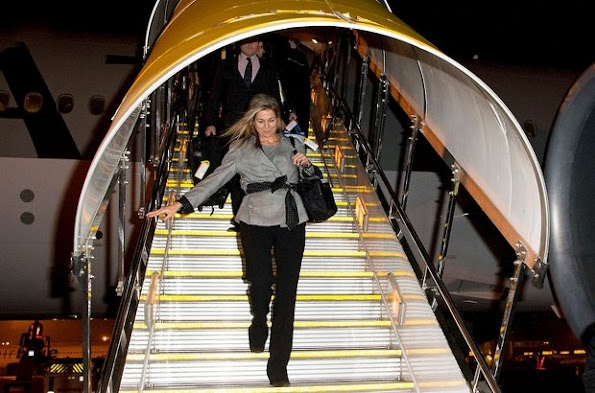 Queen Maxima of the Netherlands for a 3 day visit to Pakistan visits at the invitation of Pakistan