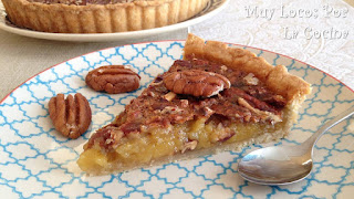 Pecan Pie (Tarta Americana de Nueces Pecanas)