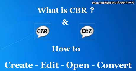 How to Open-Edit-Convert-Make CBR/CBZ Files