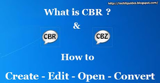 How to Create, Open, Edit or Convert CBR-CBZ File