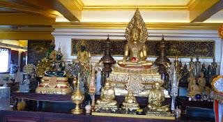 Bangkok, Wat Saket o la Montaña Dorada.