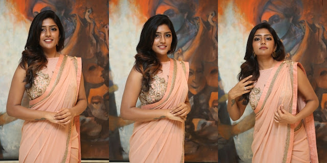 Actress Eesha Rebba Saree Photos