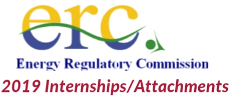 Energy Regulatory Commission internships/attachments 2019
