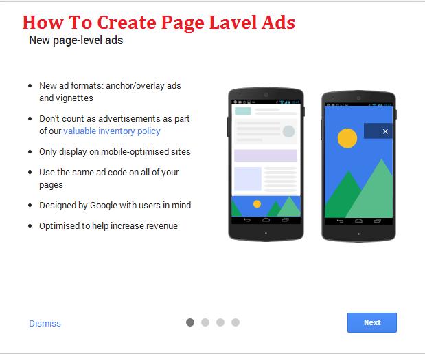 Google-Adsense-Par-Page-Lavel-Ads-Kaise-Banaye