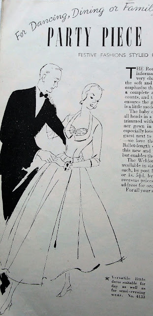 vintage 40s ball dress