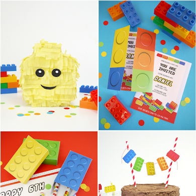 Kids Party Ideas | A Lego Inspired Birthday