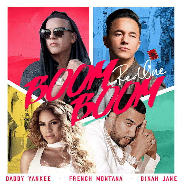 RedOne, Daddy Yankee, French Montana & Dinah Jane - Boom Boom - Single Cover