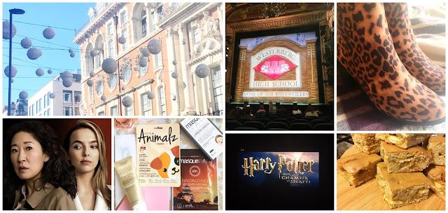 London, Killing Eve, MasqueBAR masks, Harry Potter, Heathers, Blondies, Boots