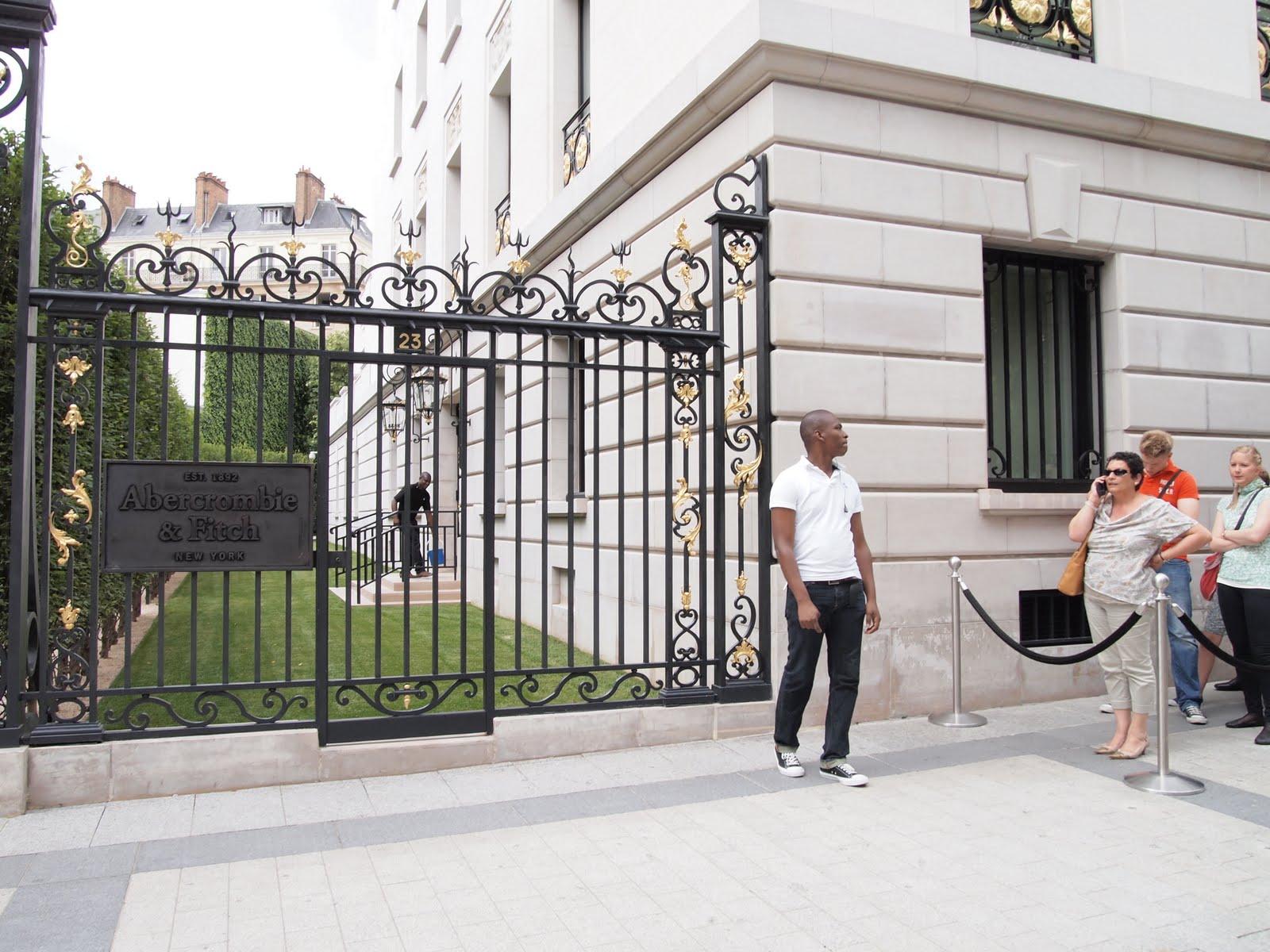 Paris – Part 4: Abercrombie & Charvet | Feather Factor