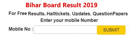 Bihar Board 2019 Class 12th Results 2019