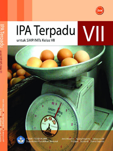 Download Buku Siswa KTSP SMP Dan MTs Kelas 7 IPA Terpadu VII