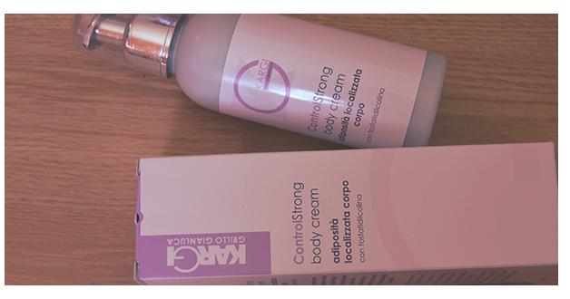REVIEW: ControlStrong Body Cream Adiposità Localizzata - KARGI