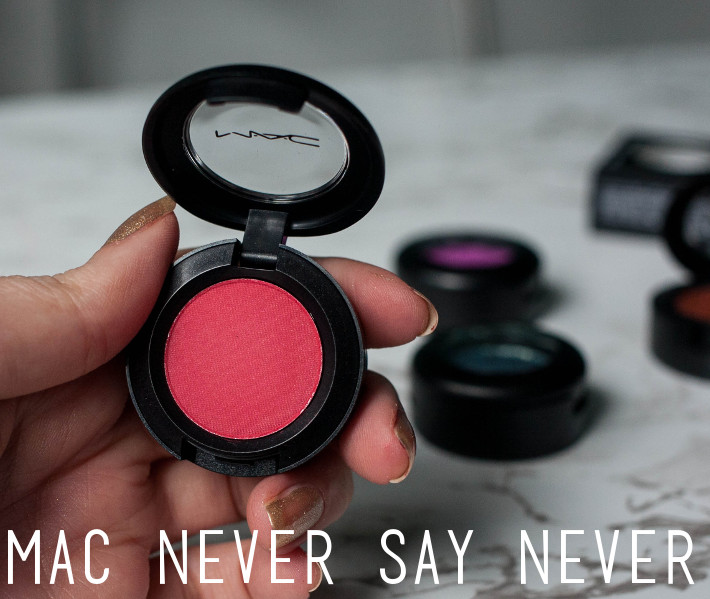 MAC Never Say Never blush review