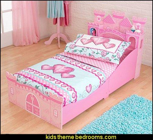 Princess Castle Toddler Bed  Princess bedroom Furniture