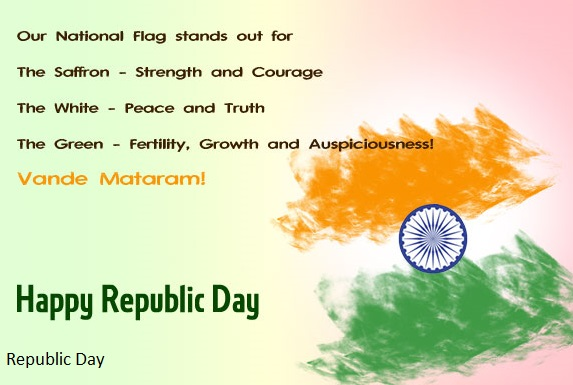 Happy Republic Day Wishes, Messages, Sms in Hindi English