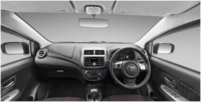 Interior Toyota New Agya