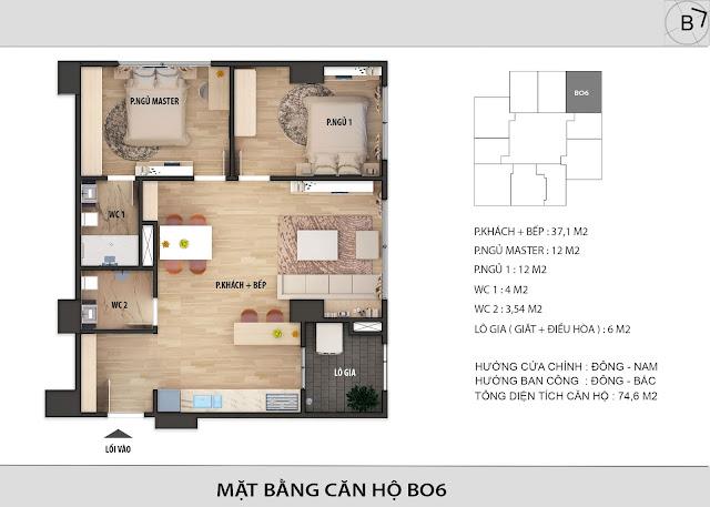 Chi tiết căn hộ B06