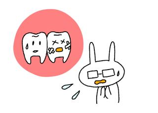 ©さんがつの歯科矯正を始めます 歯のイラスト