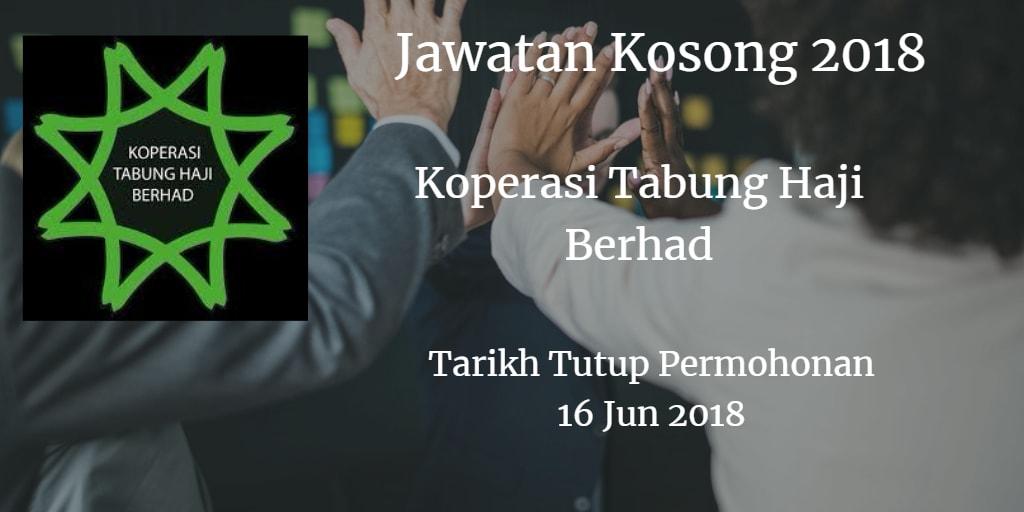 Jawatan Kosong Koperasi Tabung Haji Berhad 16 Jun 2018