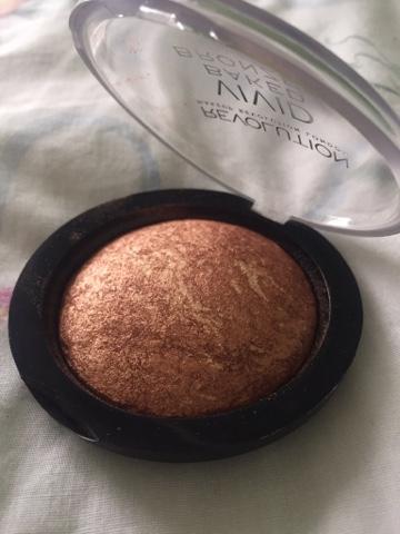 makeup revolution baked bronzer