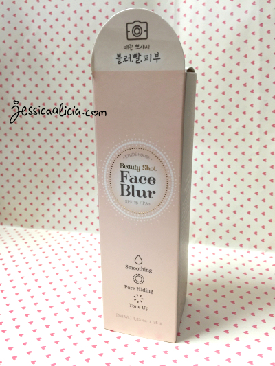 Etude House Beauty Shot Face Blur review by Jessica Alicia