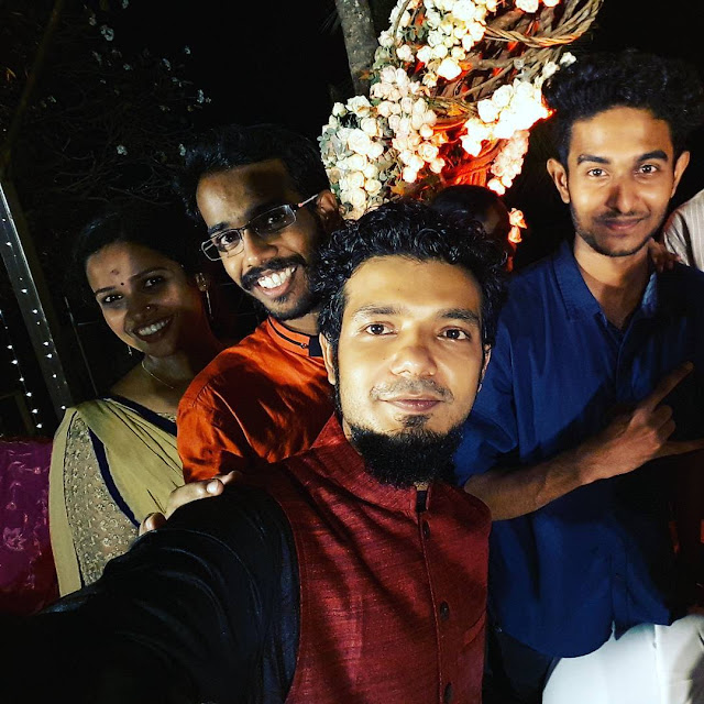 Sreenath Bhasi Wedding Photos - Sreenath Bhasi Reethu Zachariah Marriage Video Photos