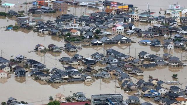 Banjir di Jepang