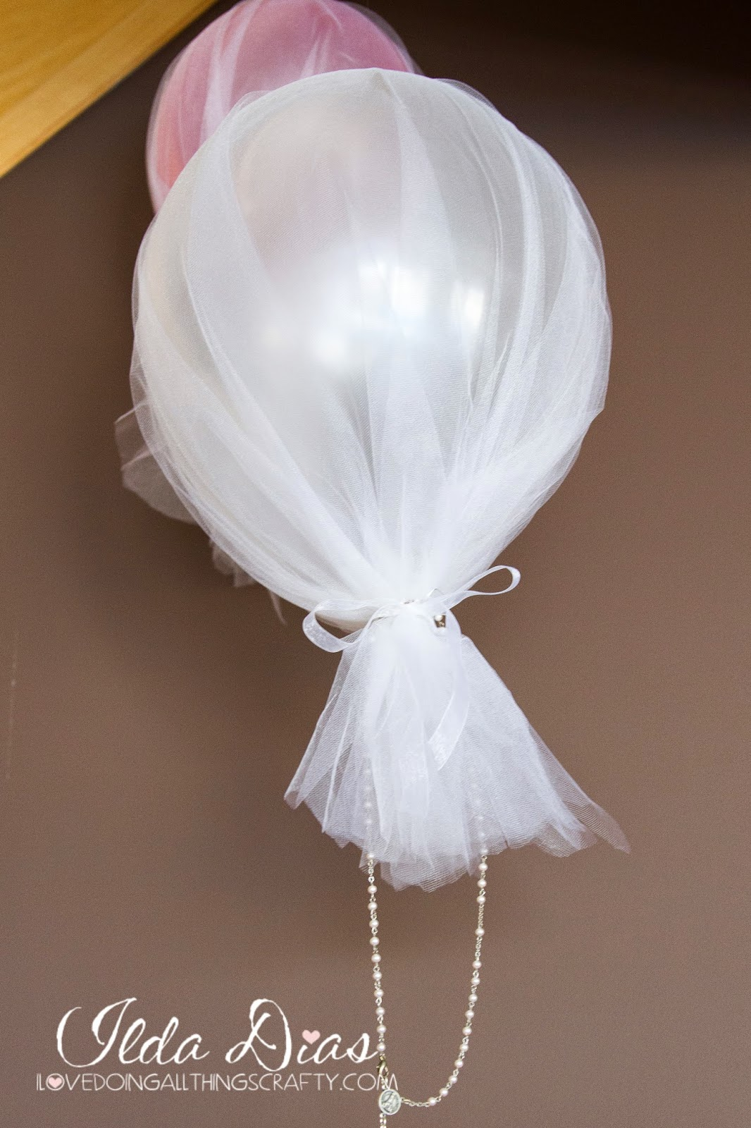 First Communion Day + DIY Decor, Balloons