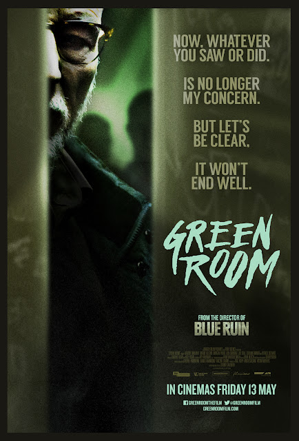 Green Room UK Teaser Poster