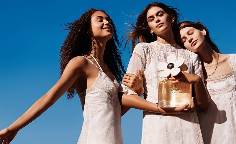 Kaia Gerber stars in the Marc Jacobs Daisy Fragrance Campaign 2017