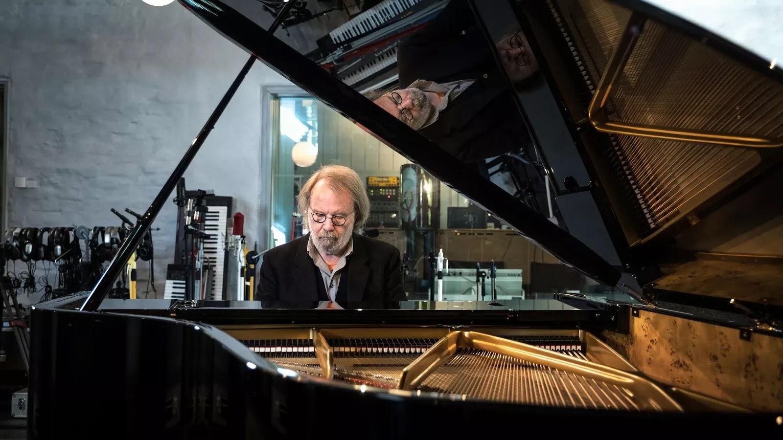 Resultado de imagen de Benny Andersson piano 2017