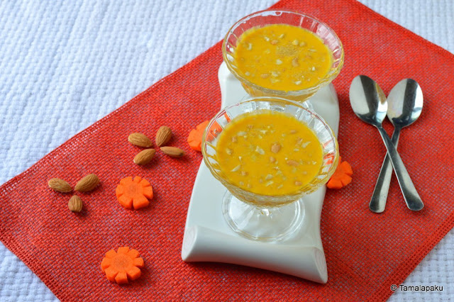 Vegan Carrot-Coconut Kheer